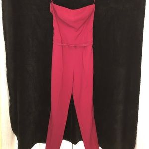 Cranberry Red Jumpsuit